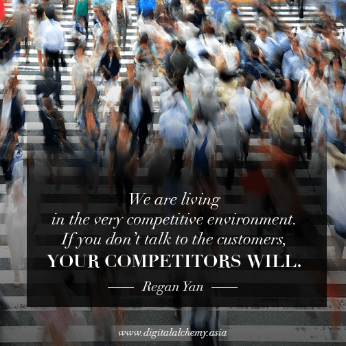 Digital Alchemy | We are living in a very competitive